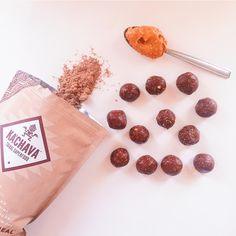 Double Chocolate PB cup Protein Bites — balance with b