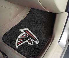 NFL Atlanta Falcons Car Mats 2 Piece Front by FanMats. Buy now @ReadyGolf.com