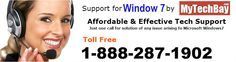 Seeking for Windows 7 Technical Support. MyTechBay's certified technicians has an expertise in resolving Window 7 related issues.