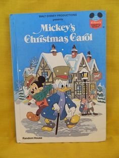Disney Mickey's Christmas Carol w. Scrooge Random House, Walt Disney Donald Duck