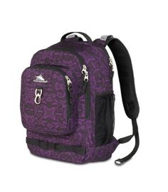 High Sierra 2074 Cubic-Inches Brewster Daypack (Plum Lace)