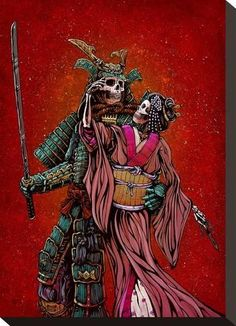 Stretched Canvas Print: The Spoils of War by David Lozeau : 14x10in