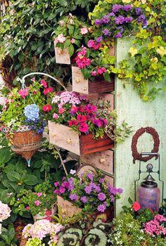 wow! Cool garden idea!