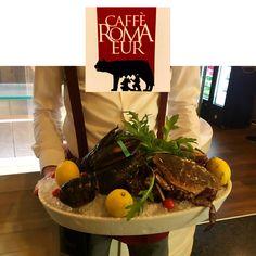 Tanta qualità solo da #cafferomaeur🍷 #aperitivo #roma #eur #fresh #soloingredientifreschi
