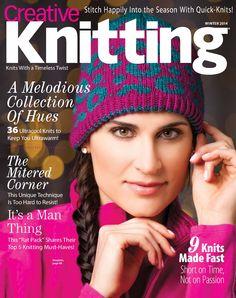 Creative knitting winter 2014 Cowls et veste Chanel Trié