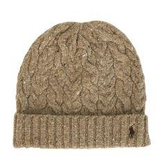 Polo Ralph Lauren Cable Cuff Hat #VonMaur #PoloRalphLauren #Hat