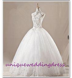 2013 Korea sweet princess wedding dress lace by Uniqueweddingdress, $199.00