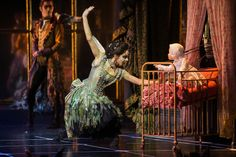 London, UK. 07.12.2012. MATTHEW BOURNE'S SLEEPING BEAUTY: A GOTHIC FAIRYTALE premieres at Sadler's Wells. Liam Mower, Kate Lyons in Act I: T...