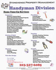 Flyer Handyman Design Dog Studio Llc Graphic Design