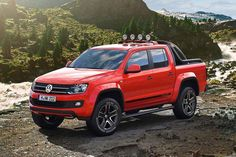 Amarok Canyon pickup truck