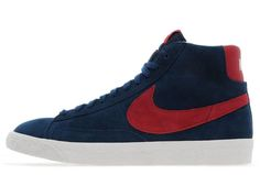 Nike Blazer - Blue & Red (JD Sports Exclusive)