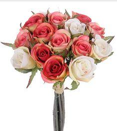 Fri frakt over 750 kr og gratis frakt i Hamar. Hygge, Floral Wreath, Planters, Wreaths, Flowers, Unique, Button Bouquet, Cloth Flowers, Color