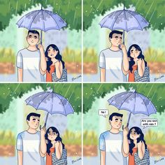 Artist Draws Her Love Life With Her Boyfriend In Hilarious Illustrations Cute Couple Comics, Cute Couple Cartoon, Couples Comics, Comics Love, Cute Couple Art, Cute Comics, Cute Cartoon, Anime Couples, Cute Couples