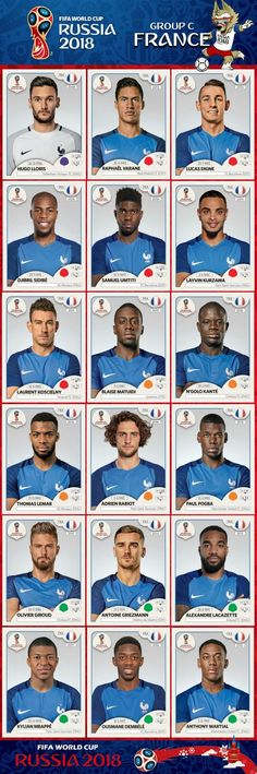 a9d77c2aa 2018 World Cup Champions France World Cup 2018 Teams
