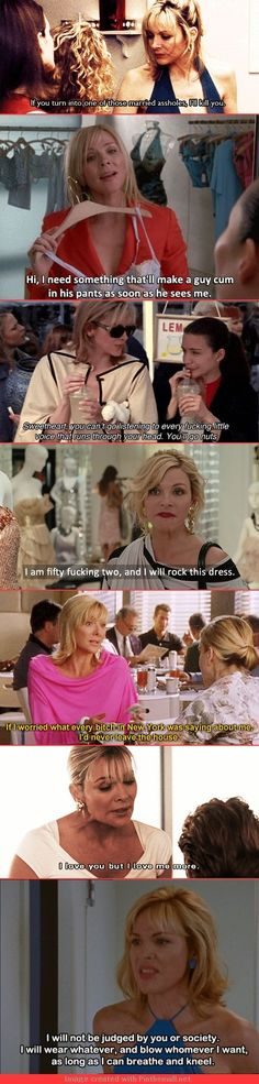 "The 21 Best Things Samantha Jones Ever Said On ""Sex And The City"" I love her and never even liked the show City Quotes, Movie Quotes, Funny Quotes, Kino Film, Laugh Out Loud, Favorite Tv Shows, The Funny, Girl Power, Make Me Smile"