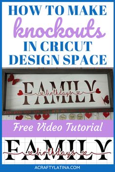 Learn how to make this great, stylish gift to help loved ones remember family's birthdays. Cricut Fonts, Cricut Vinyl, Cricut Air, Vinyl Decals, Vinyle Cricut, Cricut Explore Projects, Ideas For Cricut Projects, Vinyl Craft Projects, Project Ideas