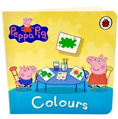 Peppa Pig Book Colours by Ladybird Books Ltd Children's Toddlers Kids Gift 🎁 Peppa Pig Books, Ladybird Books, My Ebay, Gifts For Kids, Toddlers, Colours, Children, Shop, Gifts For Children