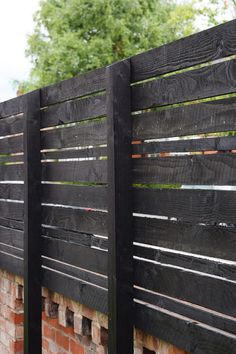 Daunting Modern fence wood,Privacy fence vinyl and Backyard fence gate ideas. Diy Privacy Fence, Diy Fence, Fence Gate, Fence Ideas, Horse Fence, Garden Privacy, Pallet Fence, Door Ideas, Backyard Playground