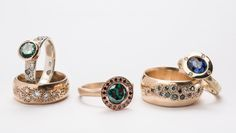 DEBRA FALLOWFIELD makes jewellery to fall in love with crafting contemporary wedding and engagement rings that are unlike any other. She specialises in bespoke pieces that are as unique as its wearer's finger print. Solid and impeccably crafted, Debra's pieces are made with care and follow strong ethical practises. www.debrafallowfield.com
