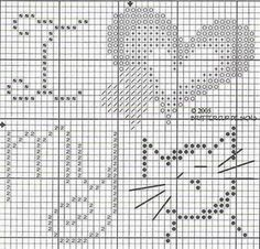 I love my cat cross-stitch pattern. C might like!