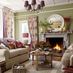 Fireplace inspiration - Laura Ashley AW15 #interiors #Ambleside