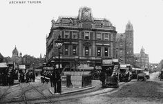Archway Road & Highgate Hill, C1890 | Flickr - Photo Sharing!