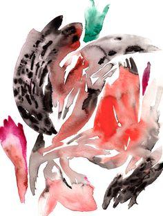 More beautiful watercolors. Love.