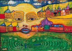 The Peregrinating Penguin: The Hundertwasser Museum at Kunst Haus Wien, and the Hundertwasser Haus Art Painting Gallery, Painting Prints, Art Prints, Edvard Munch, Vincent Van Gogh, Friedensreich Hundertwasser, Exhibition, Sculpture, Medium Art