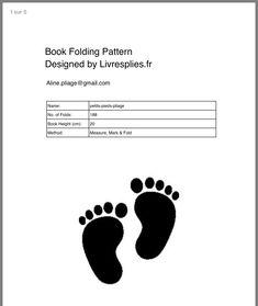 Book Folding Patterns Free, Craft Patterns, Pattern Art, Pattern Design, Free Pattern, Book Crafts, Paper Crafts, Butterfly Books, Folded Book Art