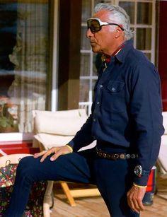 Gianni Agnelli inSt. Moritz, 1979