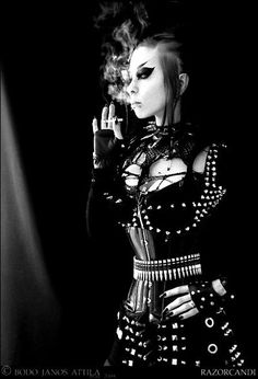 Buckles and spikes yum