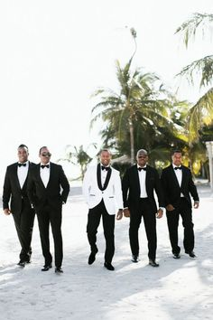 Read information on mens beach wedding suits. Read information on mens beach wedding suits. Click the link to read more. Black Tuxedo Wedding, White Wedding Suit, Black And White Wedding Theme, Black And White Tuxedo, Black Wedding Dresses, White Tuxedo Jacket, Tuxedo Suit, Groom And Groomsmen Tuxedos, Groomsmen Attire Black