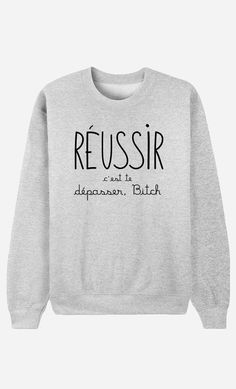 Sweat Femme OG Air Max doux et confortable - Wooop Sweat Shirt, Tee Shirts, Sweat Gris, Teen Fashion, Womens Fashion, Mode Shop, Mode Outfits, Mode Inspiration, Fashion Inspiration