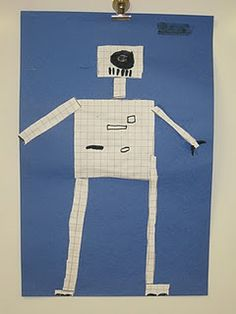 Perimeter and Area build a robot challenge game