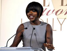 "Actress Viola Davis's acceptance speech on being black in Hollywood: ""What keeps me in the business is hope."" Part of The Eloquent Woman's ""Famous Speech Friday"" series."