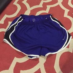 Nike Dri-Fit Shorts Nike Dri-Fit Shorts. Blue with black and while trim. Good condition. Size medium Nike Shorts
