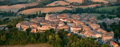 """CASTELNAU DE MONTMIRAL A bastide village founded at the beginning of the Century by Count Raymond VII of Toulouse. The original name meant """" The mountain from w… Culture Art, Beaux Villages, Toulouse, Architecture, Country Life, Small Towns, France, River, Outdoor"""