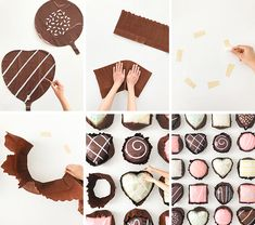 Chocolate Assortments Balloon Backdrop DIY | Oh Happy Day! #diy #party #valentinesday