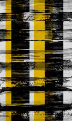 black and yellow black and yellow black and yellow black and yellow Surface Pattern, Pattern Art, Surface Design, Pattern Design, Pattern Images, Textile Patterns, Print Patterns, Textiles, Black N Yellow