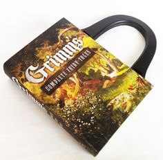 Grimm Complete Fairy Tales Book Purse - Your Choice of Purse Handle - PreOrder