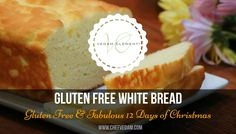 The perfect gluten free DRESSING deserves the perfect gluten free BREAD.