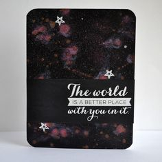 A tutorial on how to make your own DIY Constellation for a card. Click on the card to go to the post with the tutorial steps.