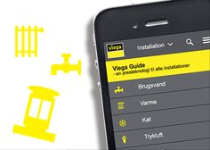 It's product info to go in this mobile solution for Viega, one of the world's leading suppliers of plumbing solutions.