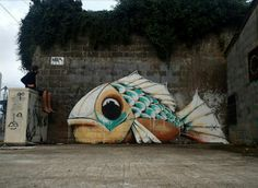 Street Art by Mika, located in France