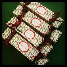 Caixinha de Lembrancinhas e Mimos para o Natal, linda demais!   by: www.papermint.com.br