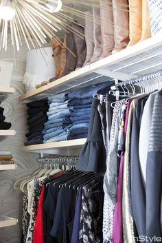 Go inside fashion designer Rebecca Minkoff's gorgeous closet.