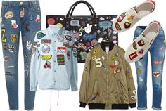 Spring/Summer Must Have: Multi Patch Clothes and Accessories