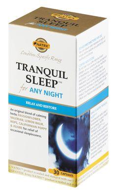 natrx tranquil sleep