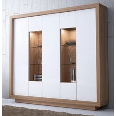 Wardrobe Doors, Wardrobe Closet, Dinning Room Cabinet, Interior Concept, Interior Design, Cool Furniture, Modern Furniture, Crockery Cabinet, Bedroom Closet Design