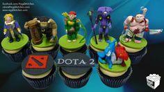 DOTA 2 Cupcakes | by The Regali Kitchen